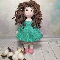 Игрушка кукла амигуруми