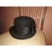 Фетровая шапка 56 р-р