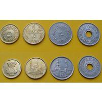 Египет набор 1992г. 5, 10, 20, 25 пиастр