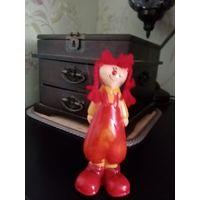 Куколка Клоунесса из керамики ростик 12 см