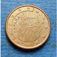 Испания 1 евроцент 2005