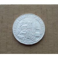 Австрия, 100 шиллингов 1976 г., 1000 лет земле Каринтия, герцогский трон, серебро