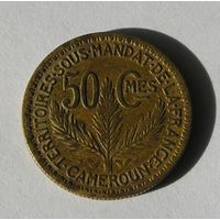 Франц. Камерун 50 Сант. 1924 (98)