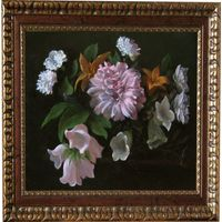"""Живописная картина от художника -""""Цветы"""""""