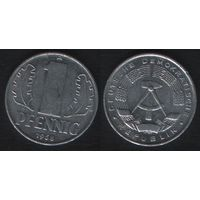 Германия (ГДР) _km8.1 1 пфенниг 1968 год (i01