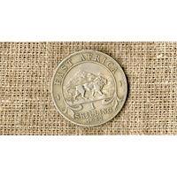 Восточная Африка 1 шиллинг 1952 /лев/фауна//(ON)