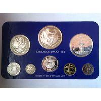 Барбадос годовой набор 1980 года, PROOF - с серебром