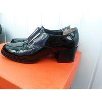Ботинки женские 36 рр натур кожа