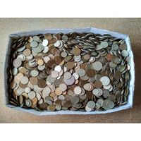 Разгребая завалы в старом родительском гараже найдено 20 кг. копеек и рублей СССР