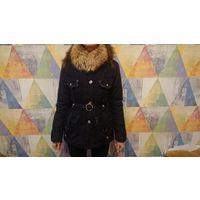 Женская черная куртка р. 40-42-44