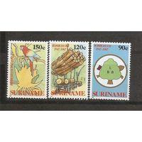 Суринаме 1987 Сохранение леса