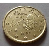 50 евроцентов, Испания 1999 г.
