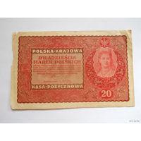 20 марок польских 1919