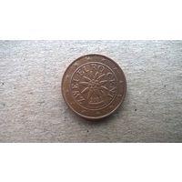 Австрия 2 евроцента, 2003г. (А-11)