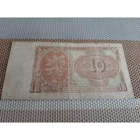 Чехословакия 10 крон 1953