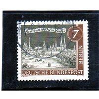 Западный Берлин.Ми-218. Die Linden (приблизительно 1650). Серия: Старый Берлин. 1962.