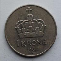 Норвегия 1 крона. 1983