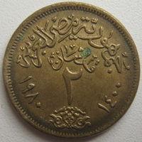 Египет 2 пиастра 1980 г. (d)