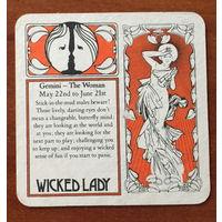 Подставка под вино Wicked Lady