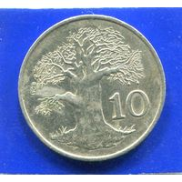 Зимбабве 10 центов 1988