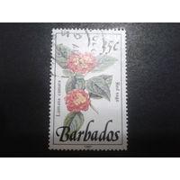 Барбадос 1991 Цветы