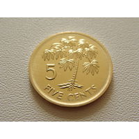 Сейшельские острова.  5 центов 2007 год KM#47a