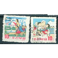 КНДР 1963 Дети серия 2м гаш