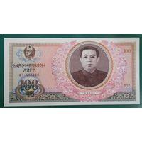 Северная Корея. 100 вон  1978 года, UNC