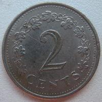 Мальта 2 цента 1977 г. (g)