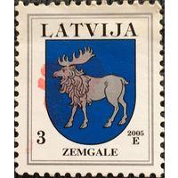 ЦІКАВІЦЬ АБМЕН! 2005, герб Зэмгале, 3 сантыма