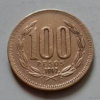 100 песо, Чили 1997 г.