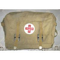 Инструмент медицинский (коллекция), лот No2а: медицинская  войсковая сумка СМВ