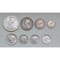 Лот серебряных монет Южной Африки (до 1945 года)