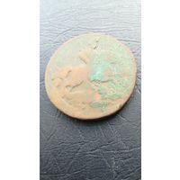 2 копейки 1759 (?) года с рубля!