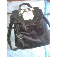 Рюкзак плюшевый