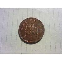 Великобритания 1 пенни 1999