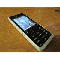 Телефон Nokia 301.1 Полностью исправен! Аккум живой.