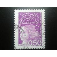 Франция 1997 стандарт 0,50