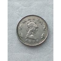 Мальта 2 цента 1976
