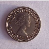 3 пенса 1964 Новая Зеландия