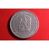 10 геллеров 1967. Чехословакия.