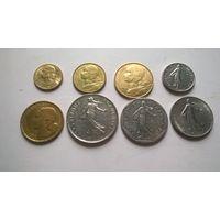 Франция набор монет-2