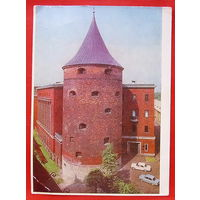 Рига. Пороховая башня. Чистая. 1976 года.