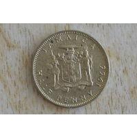 Ямайка пол пенни 1966