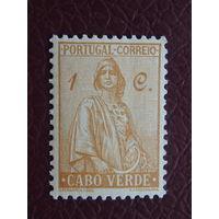 Португальская колония Кабо-Верде. Стандарт.
