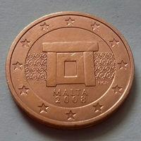 5 евроцентов, Мальта 2008 г.