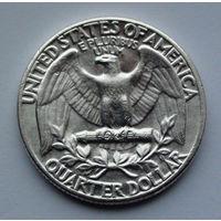 США 1/4 доллара, 1962. Washington Quarter