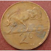 6063:  2 цента 1990 ЮАР