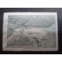 Чили 1969 плотина ГЭС
