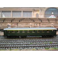Пассажирский вагон Sachsenmodelle. Масштаб HO-1:87.